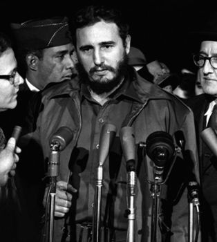 Fidel Castro à Washington le 15 avril 1959